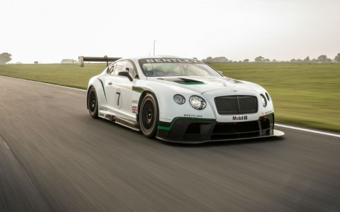 Bentley Continental GT3 Front - carwitter