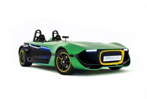 Caterham Aero Seven Front Angle - carwitter