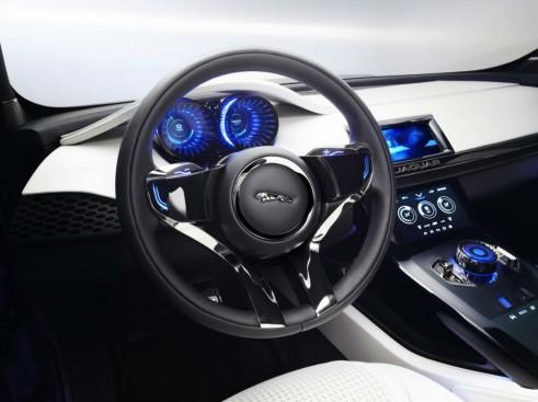 Jaguar C-X17 SUV Crossover Concept Dash - carwitter