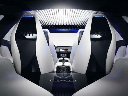 Jaguar C-X17 SUV Crossover Concept Interior - carwitter