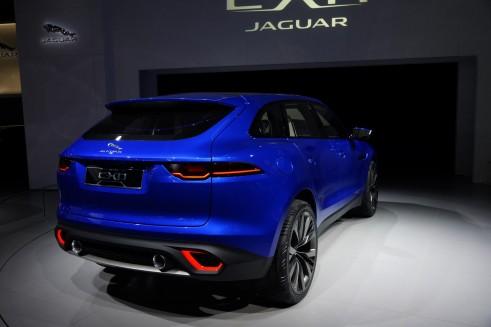 Jaguar CX-17 Concept Rear - Frankfurt 2013 - carwitter
