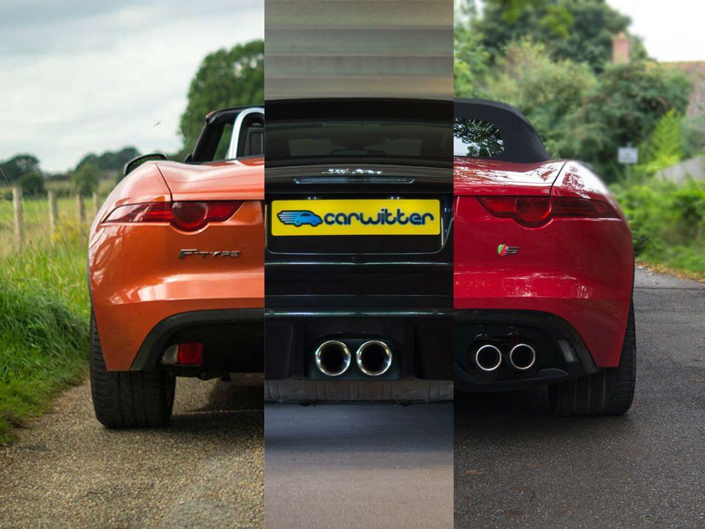 Superior Jaguar F Type Exhuast Comparison V6 V6S V8S