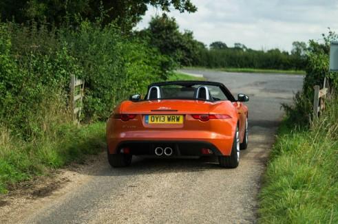 Jaguar F Type V6 Review Rear Scene carwitter 491x326 - Jaguar F-Type V6 Review - The bargain? - Jaguar F-Type V6 Review - The bargain?