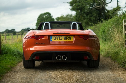 Jaguar F Type V6 Review Rear carwitter 491x326 - Jaguar F-Type V6 Review - The bargain? - Jaguar F-Type V6 Review - The bargain?