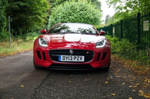 Jaguar F-Type V8S Review - Front - carwitter
