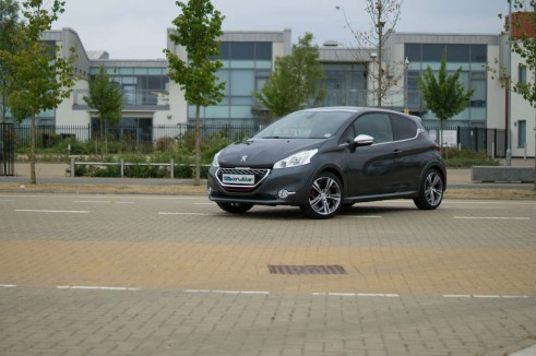 Peugeot 208 GTI Review Front Angle - carwitter