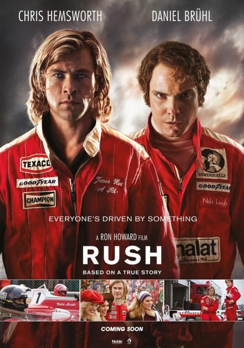 Rush 2013 Poster - carwitter