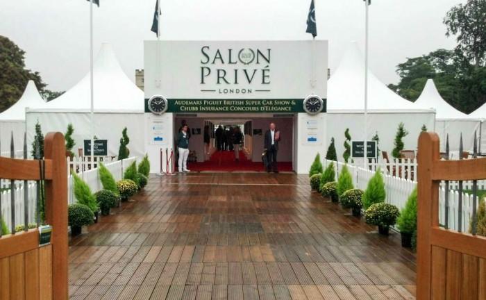 Salon Prive 2013 Entrance carwitter 700x432 - Salon Privé 2013 – An intimate affair - Salon Privé 2013 – An intimate affair