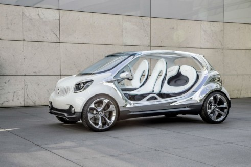 Smart Fourjoy Side Front Angle - carwitter