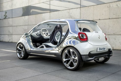 Smart Fourjoy Side Rear Angle - carwitter
