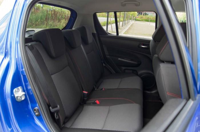 Suzuki Swift Sport 5 Door Review Rear Seats carwitter 700x465 - Suzuki Swift Sport 5 Door Review - Practical fun - Suzuki Swift Sport 5 Door Review - Practical fun