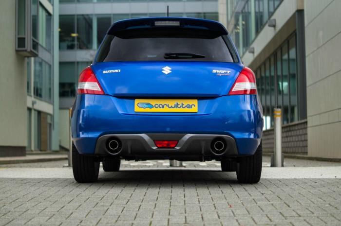 Suzuki Swift Sport 5 Door Review Rear carwitter 700x465 - Suzuki Swift Sport 5 Door Review - Practical fun - Suzuki Swift Sport 5 Door Review - Practical fun