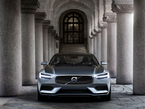 Volvo Concept Coupé Front - carwitter