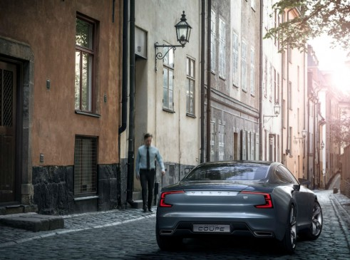 Volvo Concept Coupé Rear - carwitter