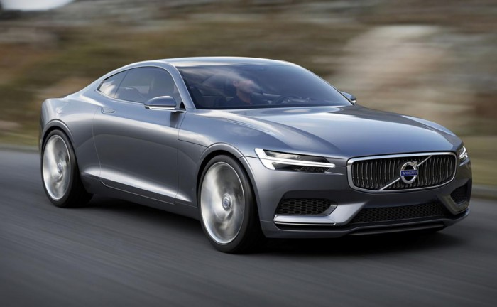 volvo concept coupe front Carwitter 700x432 - Volvo Concept Coupe En Route to Frankfurt - Volvo Concept Coupe En Route to Frankfurt