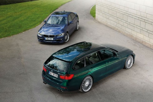 2013 BMW ALPINA B3 Bi-Turbo Saloon & Estate - carwitter