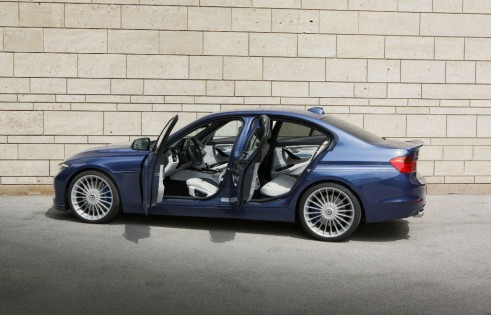 2013 BMW ALPINA B3 Bi-Turbo Saloon Side - carwitter