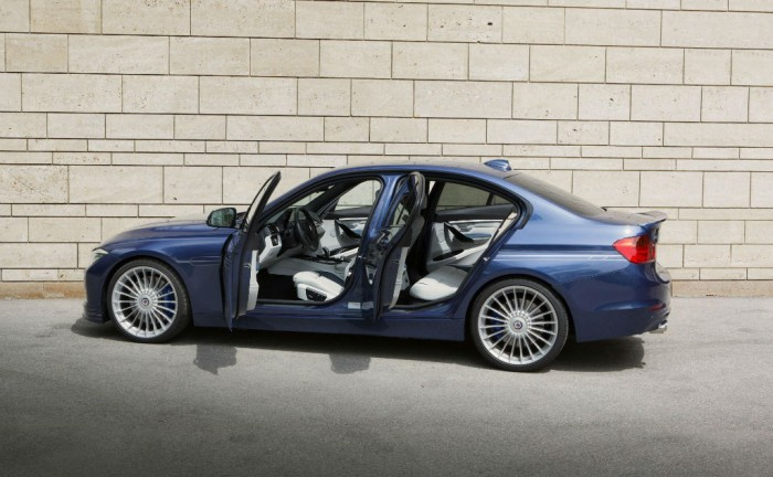 2013 BMW ALPINA B3 Bi Turbo Saloon Side carwitter 700x432 - 2013 BMW Alpina D3 BiTurbo - 2013 BMW Alpina D3 BiTurbo