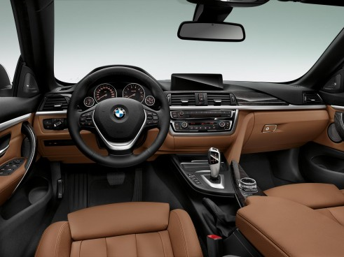 2014 BMW 4 Series Convertible Dashboard - carwitter