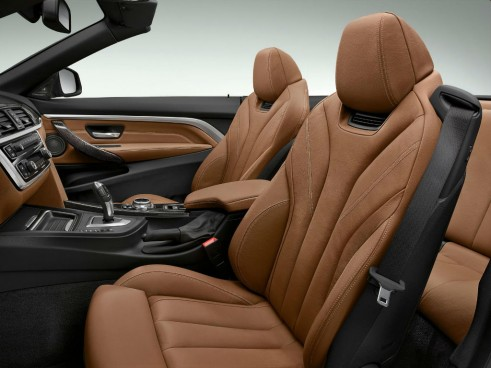 2014 BMW 4 Series Convertible Front Seats - carwitter