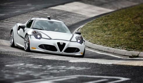 Alfa Romeo 4C Nurburgring Front - carwitter