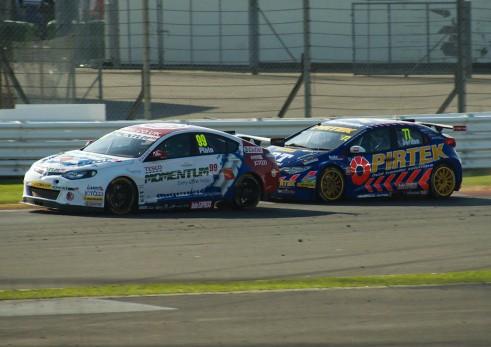 BTCC 2013 Silverstone - Plato Jackson Battle Race 2 - carwitter