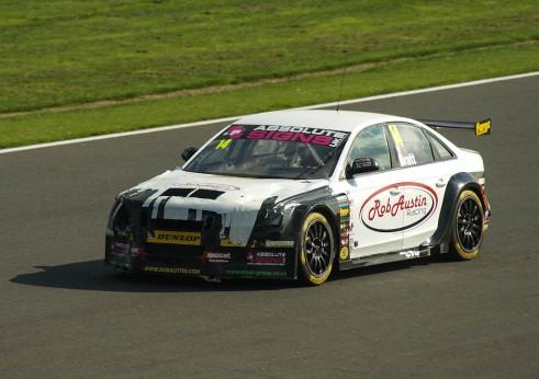 BTCC 2013 Silverstone - Will Bratt Audi Bonnet Taped Down - carwitter