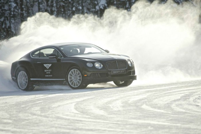 Bentley Power On Ice 2014 Coninental GT carwitter 700x467 - Challenging Weather: 7 Tips to Stay Alert on the Road - Challenging Weather: 7 Tips to Stay Alert on the Road