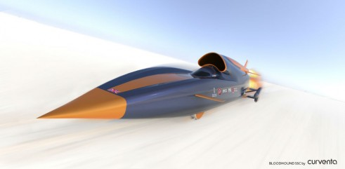 Bloodhound SSC Front by Curventa - carwitter