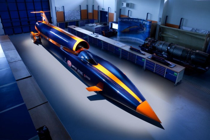 Bloodhound SSC In Workshop - carwitter