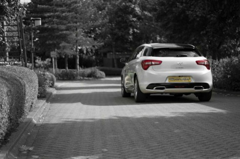 Citroen DS5 Review - Rear Dist - carwitter