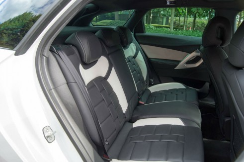 Citroen DS5 Review - Rear Seats - carwitter