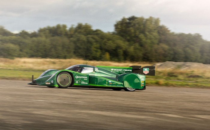 Drayson Racing EV World Record Car carwitter 700x432 - Drayson Racing sets electric land speed records - Drayson Racing sets electric land speed records