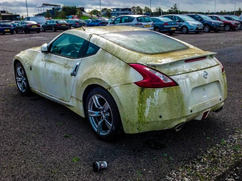 IMG 20131020 103205 767 491x368 - The abandoned Nissan 370z at Silverstone - The abandoned Nissan 370z at Silverstone