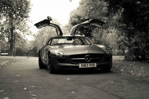 Mercedes Benz SLS AMG GT Monza Grey Review Front Doors Up Angle carwitter 491x326 - Mercedes SLS AMG GT Review – The modern classic just got better - Mercedes SLS AMG GT Review – The modern classic just got better
