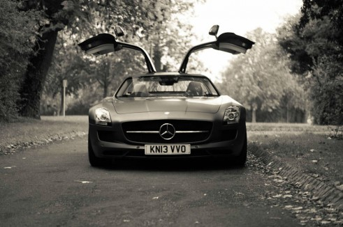 Mercedes Benz SLS AMG GT Monza Grey Review Front Doors Up carwitter 491x326 - Mercedes SLS AMG GT Review – The modern classic just got better - Mercedes SLS AMG GT Review – The modern classic just got better