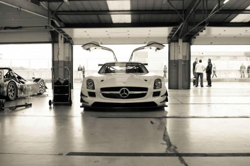 Mercedes SLS GT3 Eurotech - Front Dist - carwitter