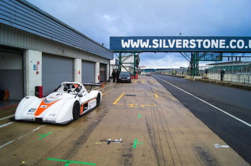 Radical SR3 RS Experience Mad Silverstone - Front Pit Lane