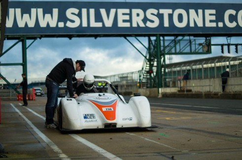 Radical SR3 RS Experience Mad Silverstone - Getting In