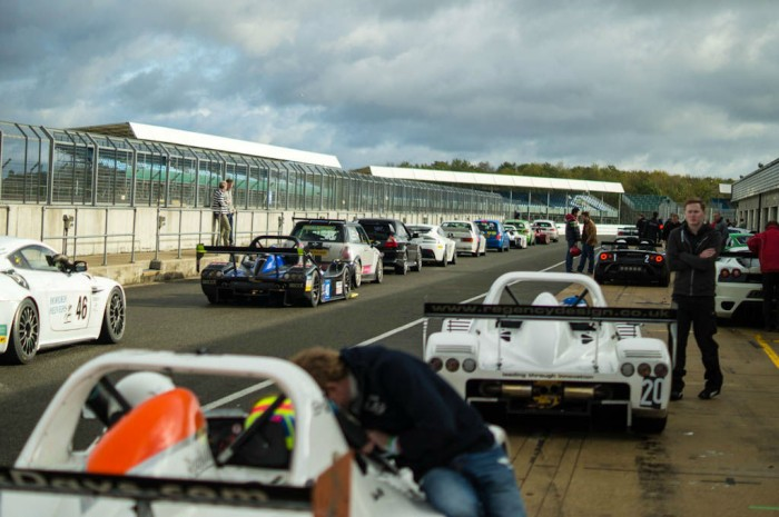 Radical SR3 RS Experience Mad Silverstone Pit Lane Busy 700x465 - Explore The Four Best Race Tracks In Scotland - Explore The Four Best Race Tracks In Scotland