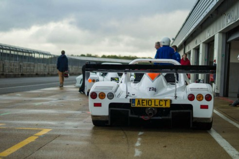 Radical SR3 RS Experience Mad Silverstone - Rear