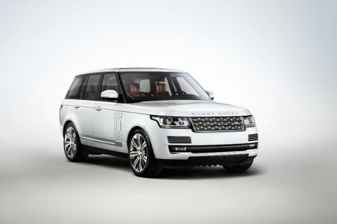 Range Rover Long Wheelbase Autobiography Black Front - carwitter