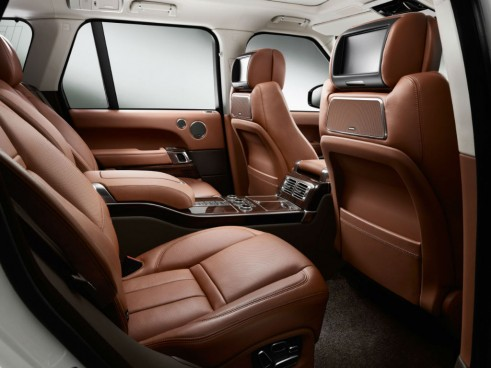 Range Rover Long Wheelbase Autobiography Black Rear Seats - carwitter