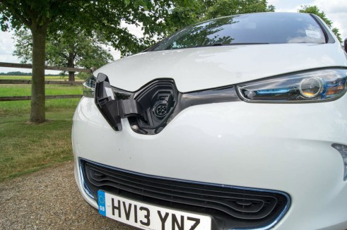 Renault ZOE Review - Charging Port - carwitter