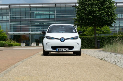 Renault ZOE Review - Front - carwitter