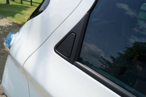 Renault ZOE Review Rear Door Handles carwitter 491x326 - Renault ZOE Review – The concept car you can drive - Renault ZOE Review – The concept car you can drive