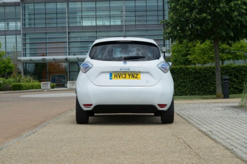 Renault ZOE Review - Rear - carwitter