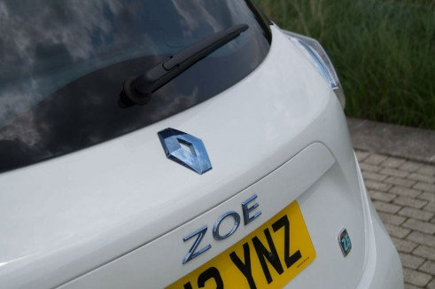 Renault ZOE Review Zoe Badge carwitter 491x326 - Renault ZOE Review – The concept car you can drive - Renault ZOE Review – The concept car you can drive