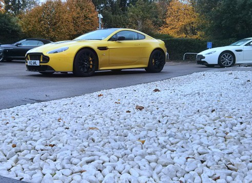 V12VantageSFront Carwitter  491x357 - An hour with the Aston Martin V12 Vantage S - An hour with the Aston Martin V12 Vantage S