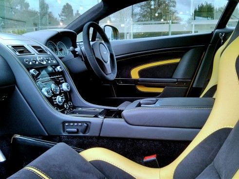 V12VantageSInterior Carwitter  491x368 - An hour with the Aston Martin V12 Vantage S - An hour with the Aston Martin V12 Vantage S